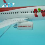 Плоскость корабля модели смолаы маштаба 1:100 воздуха B737-800 T'way