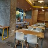 (SP-UC007) 의자를 식사하는 현대 나무다리 백색 플라스틱 쉘