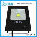 20W LED 투광 조명등 또는 빛 또는 점화, IP65 옥외 빛 LED 플러드 빛 또는 투광램프