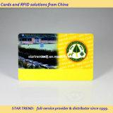 ISO 크기 (CR80)를 가진 PVC로 만드는 클럽 회원증
