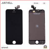 iPhone 5g 5s 5c Seの表示計数化装置のための交換部品LCDスクリーン