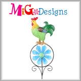 De decoratieve Staak van de Windmolen van de Tuin van de Kikker van de Staak van het Metaal