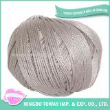 Fio de algodão egípcio orgânico tingido 40s barato do preço 100%