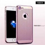 Cajas Electroplated del teléfono del laser TPU para el iPhone 7