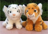 Real Like Plush Stuffed Tiger Animal Toys para crianças