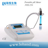 Sensor de /pH do medidor de pH da parte superior do banco de Digitas para o equipamento de laboratório