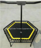 Trampoline крытого коммерчески Bungee скача с регулируемой штангой ручки для клуба гимнастики