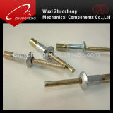 Type rivet de cuvette de couplage d'aluminium et d'acier d'abat-jour
