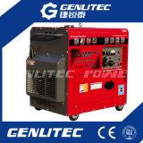beweglicher Dieselgenerator 5kVA mit großem 25L Kraftstofftank