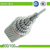 Condutor reforçado AAC AAAC do cabo ACSR do condutor aço de alumínio ACSR