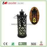 Bella lanterna decorativa del metallo con l'indicatore luminoso del LED per la decorazione dell'interno ed esterna