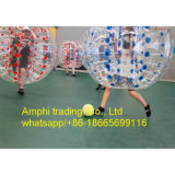 2015 bola de parachoques para el adulto, bola gigante inflable, bola inflable del compinche de la alta calidad el 1.2m/1.5m PVC/TPU de Zorb de la carrocería del balompié