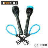 Hoozhu D11 잠수 빛 최대 1000lumens는 100meters를 방수 처리한다