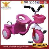 3wheelsのための二重シートの子供の三輪車か赤ん坊のバイク