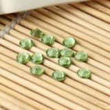 투명 감람석 편평한 바닥 은 포일 수정같은 유리 모조 다이아몬드 (FB ss16 투명 감람석)