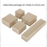 熱い販売の贅沢なカスタムロゴによって印刷される木の宝石箱