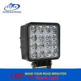 9V - indicatore luminoso per il punto della jeep del camion dell'automobile, indicatore luminoso del lavoro del quadrato di 36V 4800lm 48W del lavoro del fascio LED dell'inondazione