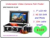 """7 """" LCD HD 4G SD DVRおよび写真の水中ビデオ・カメラの魚のファインダー"""