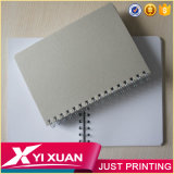 Wholesale School Papeterie Custom A5 PP / PVC Hardcover Spiral Notebook