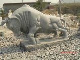 판매를 위한 새로운 동물성 조각품 돌 옥외 조각품