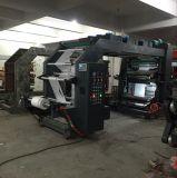 Multi Kleur 4 de Machine van de Druk van de Pers van Flexography van de Kop van het Document van de Kleur met Printer