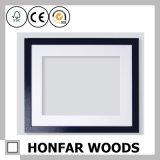 Frame de retrato magnético do frame do gancho do poster da madeira contínua de Brown