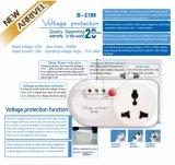 Seguridad 110V/220V automático eléctrico 7A, 10A, protector de oleada 16A/protector del voltaje de la potencia