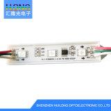 módulo impermeável novo do diodo emissor de luz de 0.72W 5050 RGB