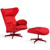 Cadeira européia do braço do lazer da sala de visitas da mobília da sala de estar