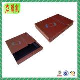 Kundenspezifischer handgemachter schiebender Fach-Pappe-Kasten für das Verpacken