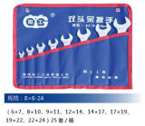 Гаечный ключ установленное 8X6-24 ручных резцов метрический