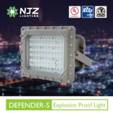Dispositif anti-déflagrant coté de la meilleure qualité Class1 Div1/2 d'éclairage LED de profil bas d'UL Dlc