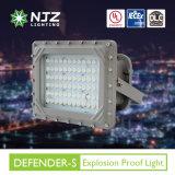 UL Dlc 우수한 열거된 폭발 방지 저프로파일 LED 전등 설비 Class1 Div1/2