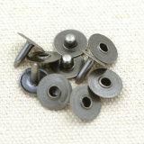 De Klinknagel van de Jeans van het Metaal van het Messing van Gunmetal voor Denim