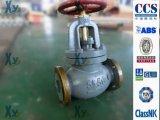 Válvula de verificação marinha JIS da válvula de globo do ferro de molde F7307 F7375 10k