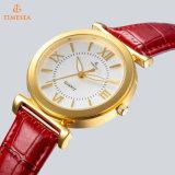 Wristwatch повелительницы нержавеющей стали с минеральным стеклом 71096