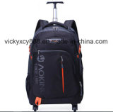 Grosse Kapazität fahrbarer Laufkatze-Geschsaftsreise-Laptop-Rucksack-Beutel (CY3716)