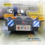 Veículo guiado ferroviário elétrico pesado para transporte