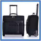 Случай вагонетки дела способа, черный Nylon мешок перемещения, случай багажа OEM на колесах