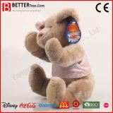 Urso do brinquedo do animal enchido para o bebé