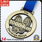 Medalla corriente personalizada del desafío de encargo de la calidad