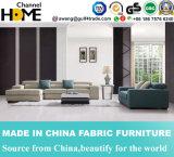 Софа ткани комнаты домашней мебели самомоднейшая живущий установила (HC562)
