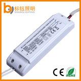 Morrer a luz de painel 36W do diodo emissor de luz do retângulo da lâmpada da iluminação de teto de Dimmable do material de carcaça