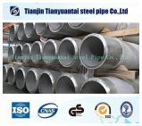Tubo de acero inoxidable de grado alimenticio para líquidos y aceite de Transporte
