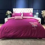 Comfortabele Katoenen van de Luxe Slaapkamer voor de Reeksen van het Beddegoed