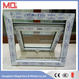 Boa qualidade UPVC Glass Top Hung Window for Building
