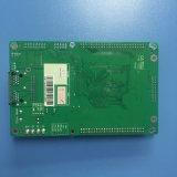 Recebendo a tela de indicador video do diodo emissor de luz do cartão de controle do diodo emissor de luz do RGB do cartão para a tela de indicador ao ar livre do diodo emissor de luz