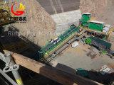 Système de convoyeur à bande de SPD Pérou pour transporter la mine de houille