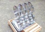 6インチのステンレス鋼ボールセットのマッシュが付いているキャンプの屋外のスープ皿は袋を運ぶ(4)のセットしなさい