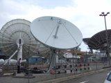 antenne de Rx de station terrestre de 6.2m seulement